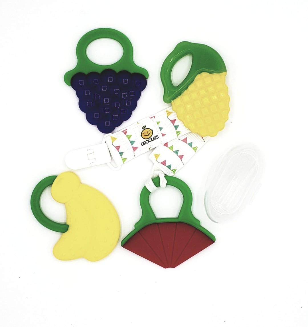 Drooleecious Teether Toys Ultimate Teething Kit