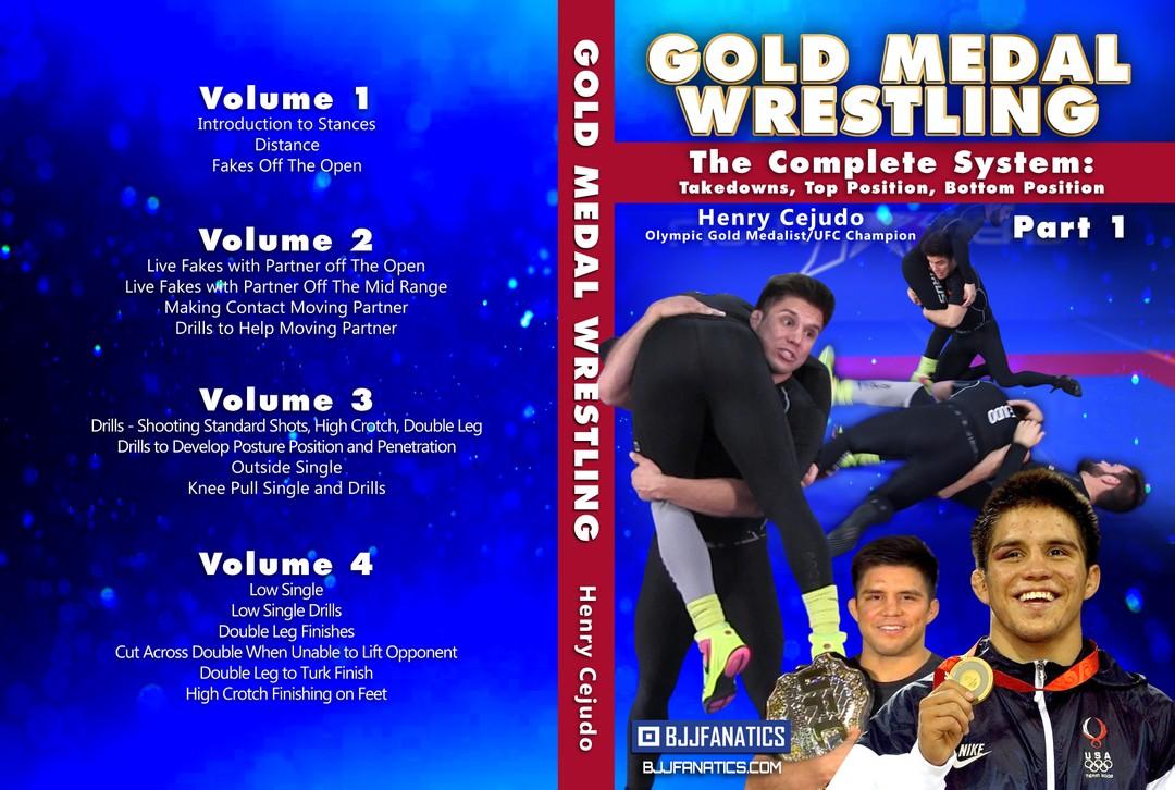 Gold Medal Wrestling by Henry Cejudo