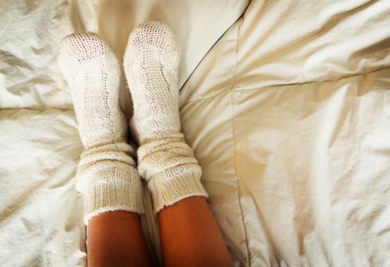 Vergeet je voeten niet