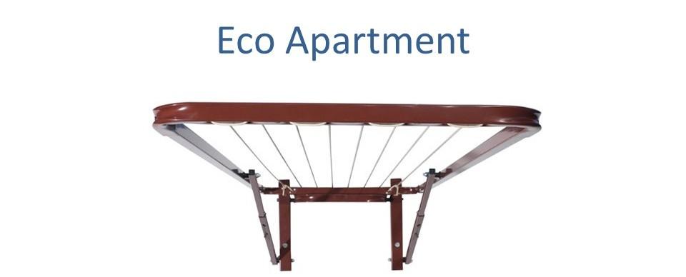 eco apartment 110cm wide clothesline