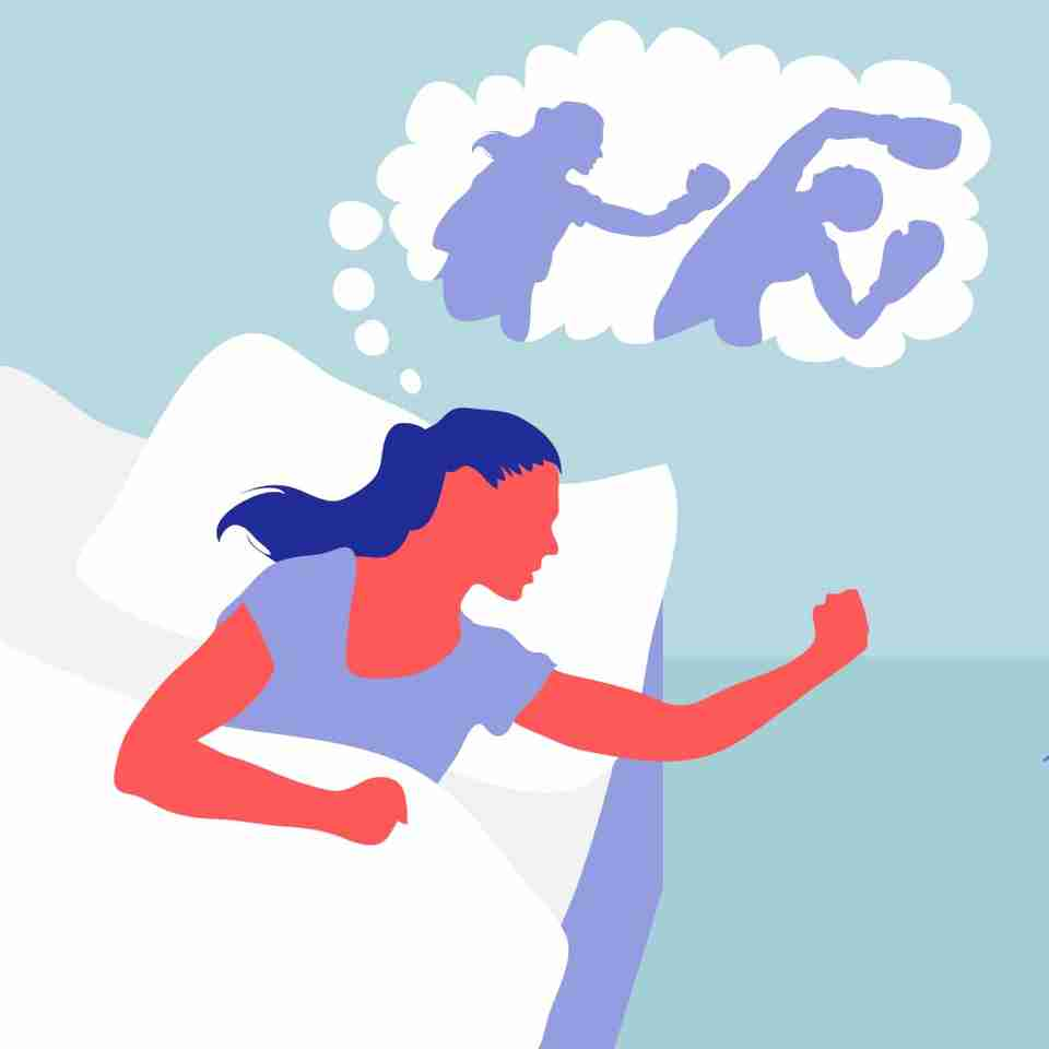 People who act out their dreams have what's called REM Behavior Disorder (RBD) and are often a danger to themselves and others.