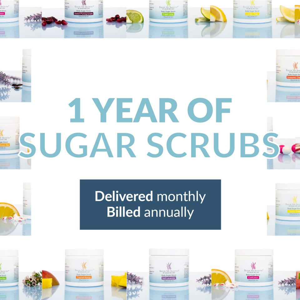 Annual Body Sugar Scrubs