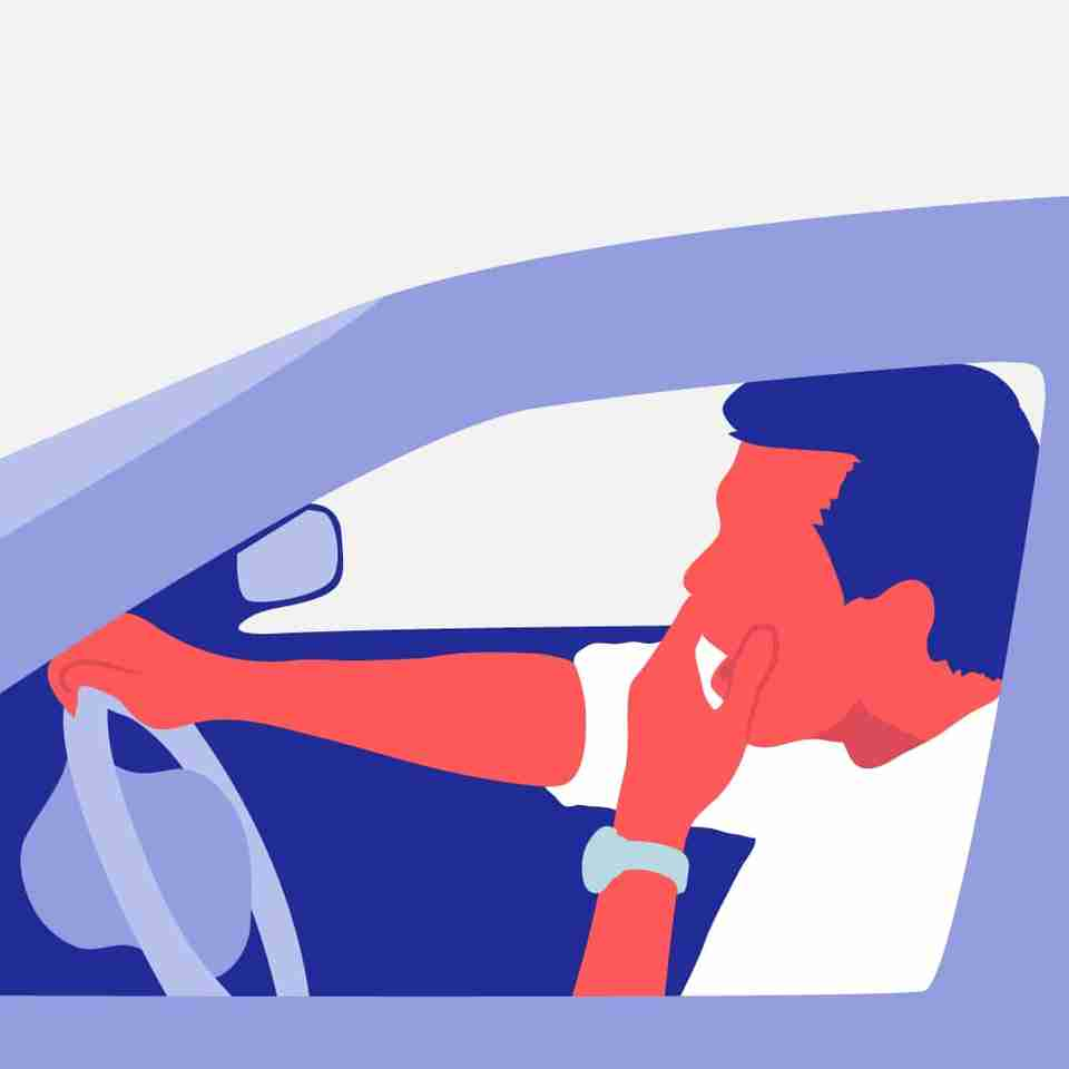 Do you feel drowsy while working or driving?