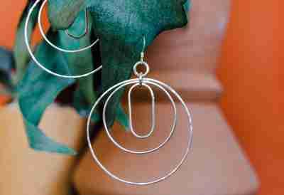 Argentium Silver handmade creations by Junebug Jewelry Designs