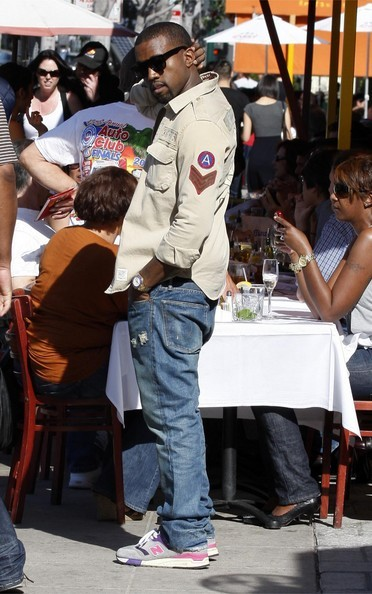 Kanye West in the United Arrows x New Balance 997.5