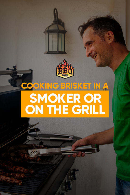 Cooking Brisket in a Smoker or on the Grill