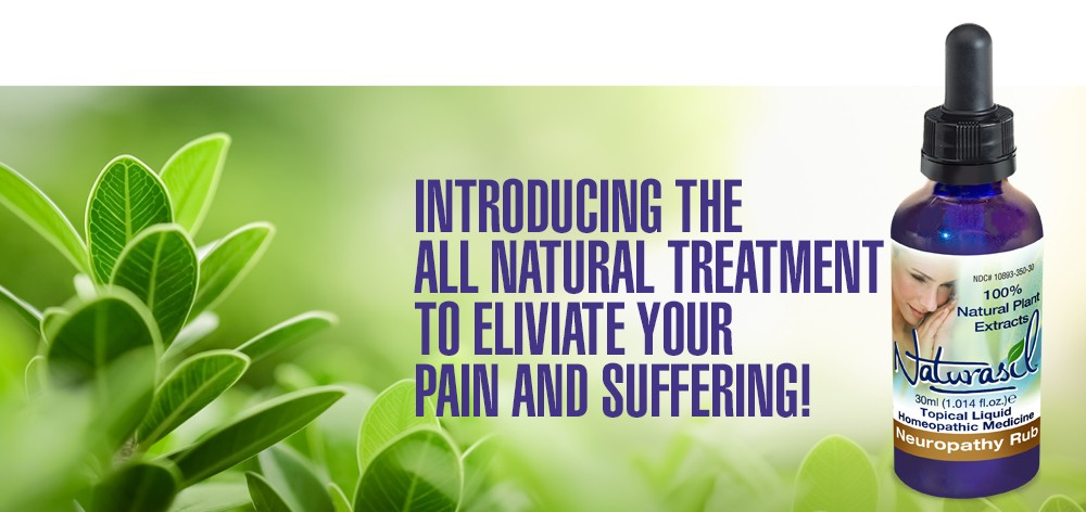 Naturasil Neuropathy Rub-The All Natural Treatment for Relieving Neuropathy Pain and Suffering.