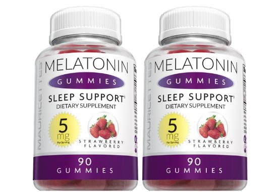 Melatonin 5 mg Gummies 2 Pack
