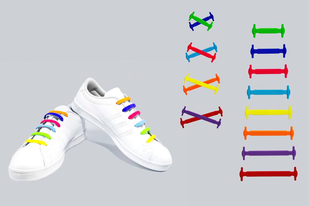 Agujetas de Silicón Multi-color