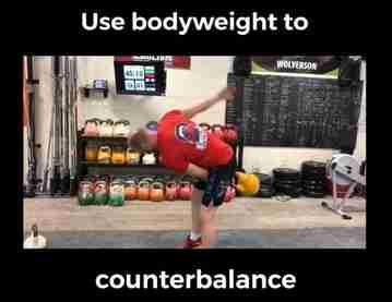 kettlebell counterbalance