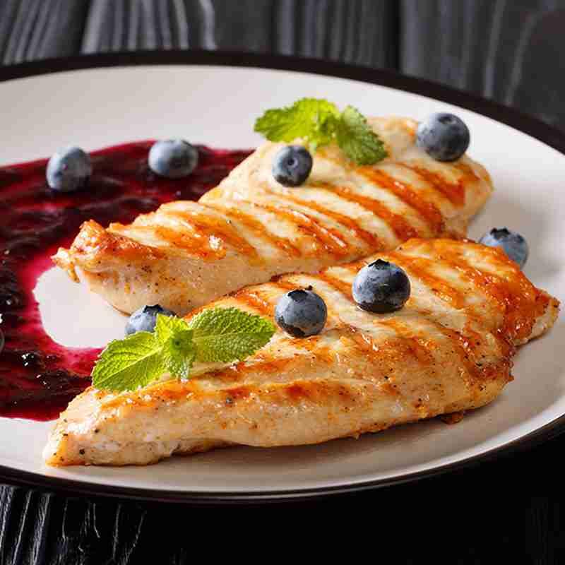 Chicken and Blueberries