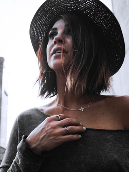 The Karly Cross Necklace