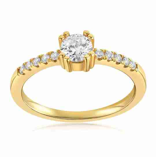The Blush and Bar Tianna ring