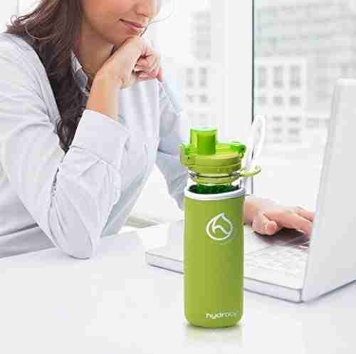 Infuser Water Bottle 25oz - Lime Green - Business