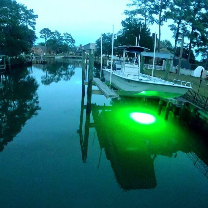 green led dock light