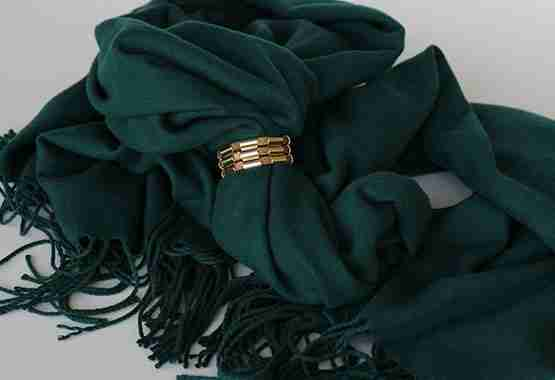 Frosty Knot Scarf Lock - Lock and Shine