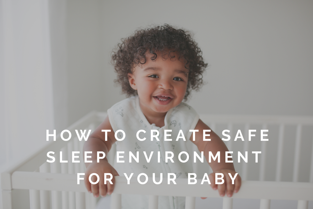 how to create safe sleep environment for your baby