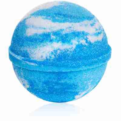 Frozen peppermint bath bomb