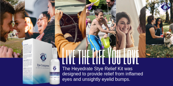 Heyedrate Stye Relief Kit