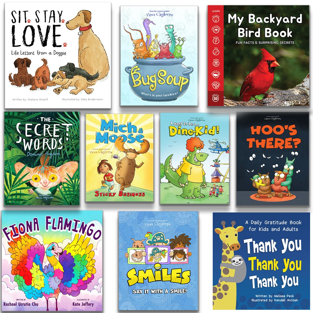 Sit. Stay. Love: Spring-Time Book Bundle (10 Books)