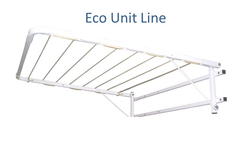 eco unit line clothesline modified to 0.6m wide by 0.75m deep