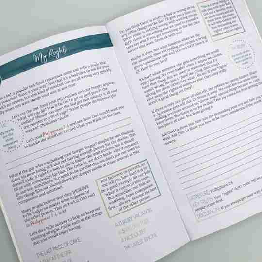 contentment bible study parent guide