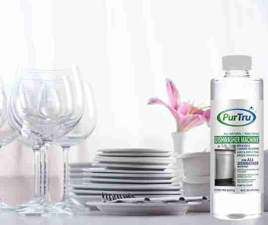 Dishwasher Machine Disinfectant and Cleaner