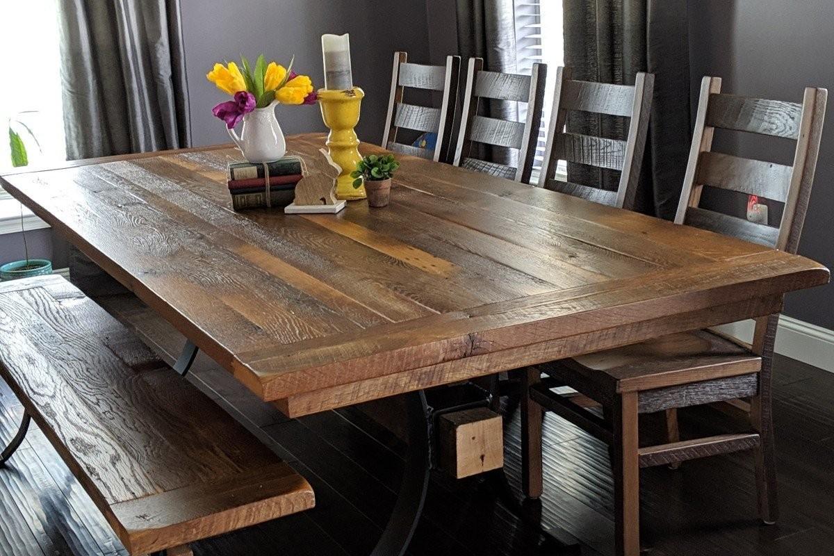 Pierce Reclaimed Barnwood Dining Table