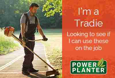 Landscape Professional Range of Power Planters