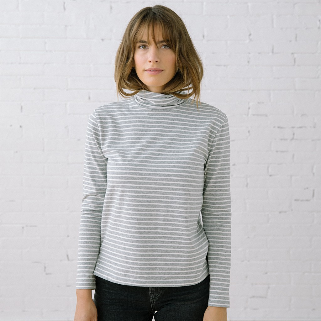 The Monty Grey Stripe