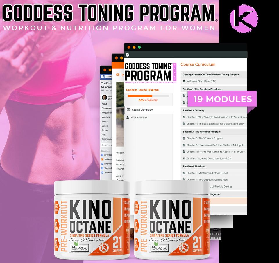 Goddess Toning Program with 2 Octane