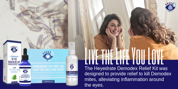 Heyedrate Demodex Relief Kit