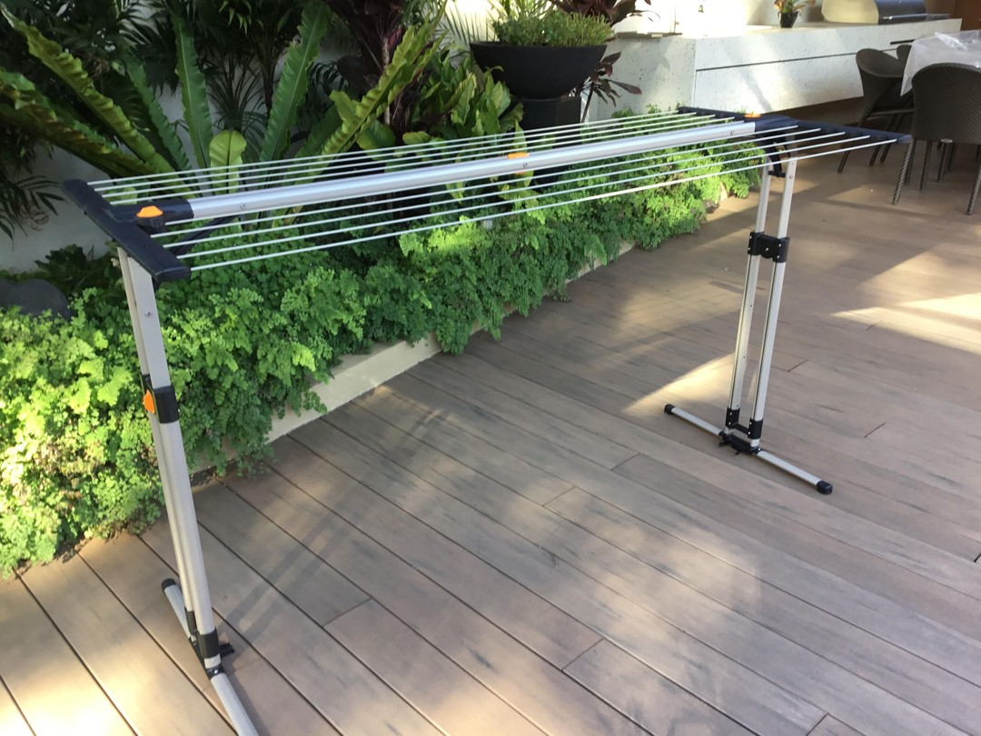 ecodry portable clothes airer location