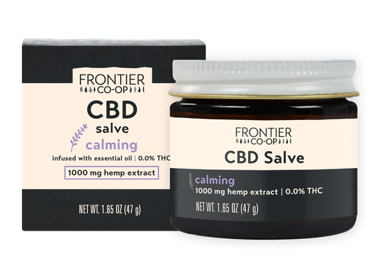 calming cbd salve