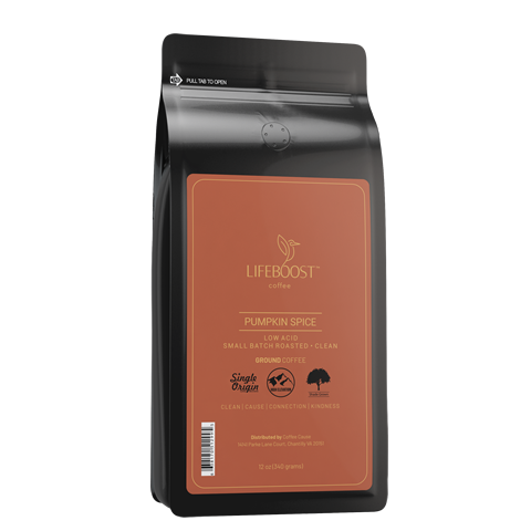 1x Pumpkin Spice Coffee 12 oz Bag