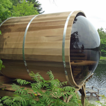 Dundalk Leisure Panoramic View Barrel Sauna