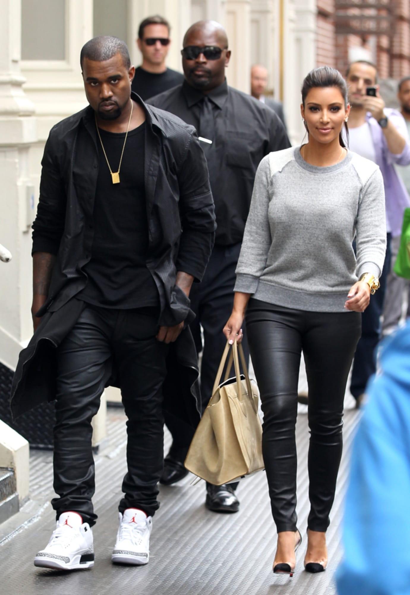 Kanye West in the Air Jordan 3