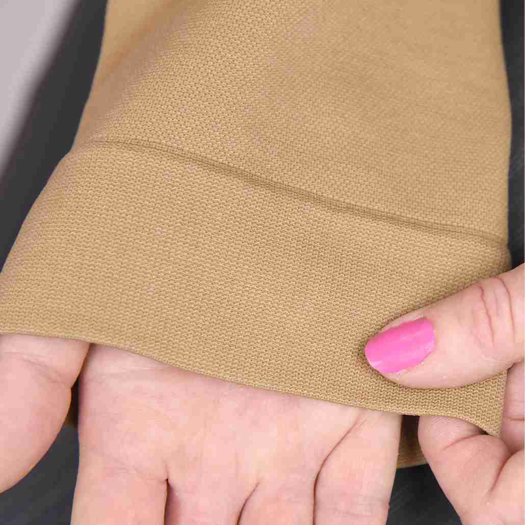 Zippered Compression Socks Material