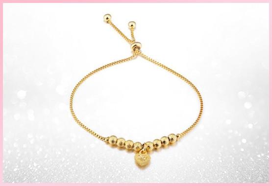 Heart of Gold Adjustable Bracelet Bundle Offer