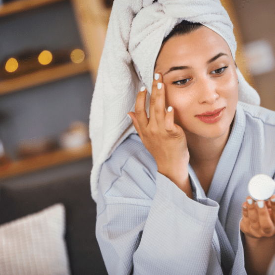 PRO EM-1 probiotic can help to clear up skin issues