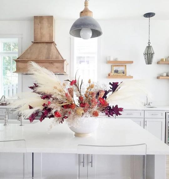 A rustic kitchen decor set by Kirkland's