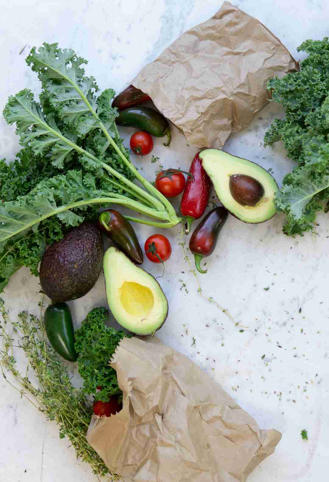 mindfulness coach and healthy foods