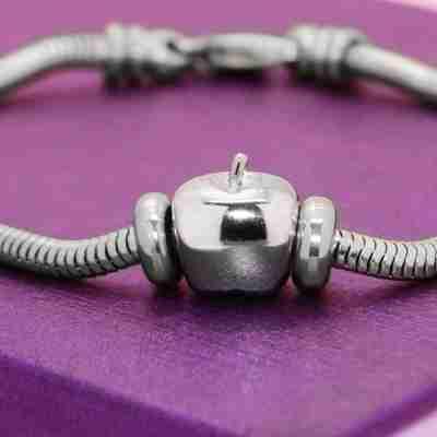 Apple Charm for Moments Bracelet