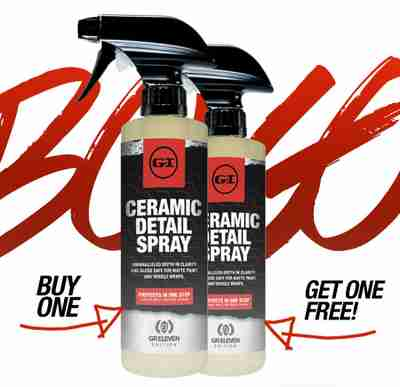 Buy 1 Ceramic Detail Spray, Get One FREE