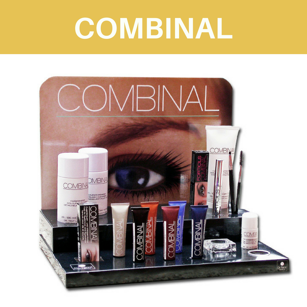 combinal eyebrow and eyelash tint