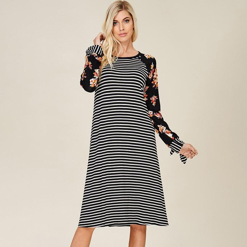 Rachel Ralgan Stripe Dress