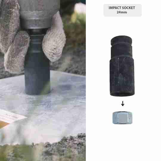 Impact Socket 24mm