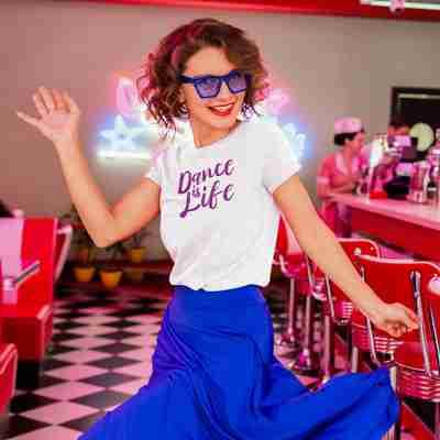 Dance is Life Unisex T-Shirt - Adult
