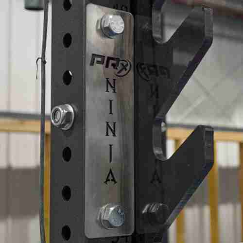 PRx Performance Ninja signs on chrome raw steel