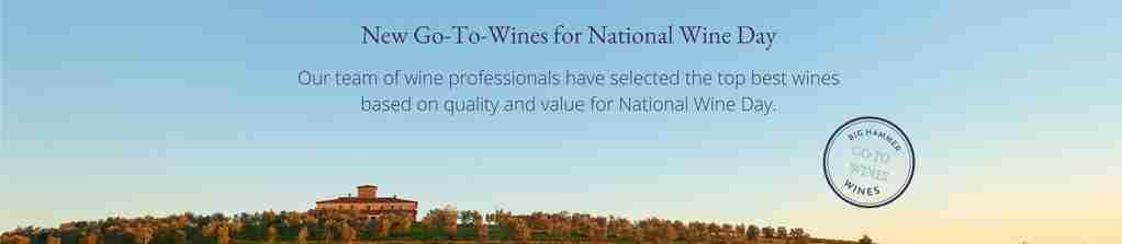 Big Hammer Wines National Wine Day